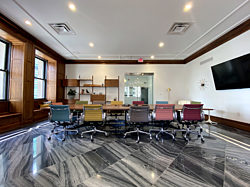 An image of the fourth floor Family Room in our downtown headquarters.